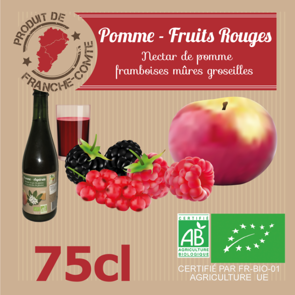 Pomme-Fruits rouges